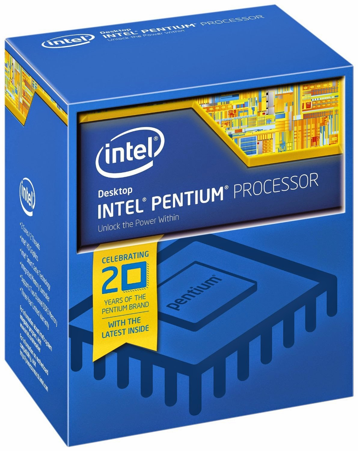 Buy Intel Pentium G3258 Dual Core processor (3MB, 3.20GHz) by Intel Rs.5,349 only at Amazon