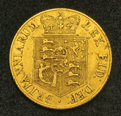 Sovereign British gold coin investment