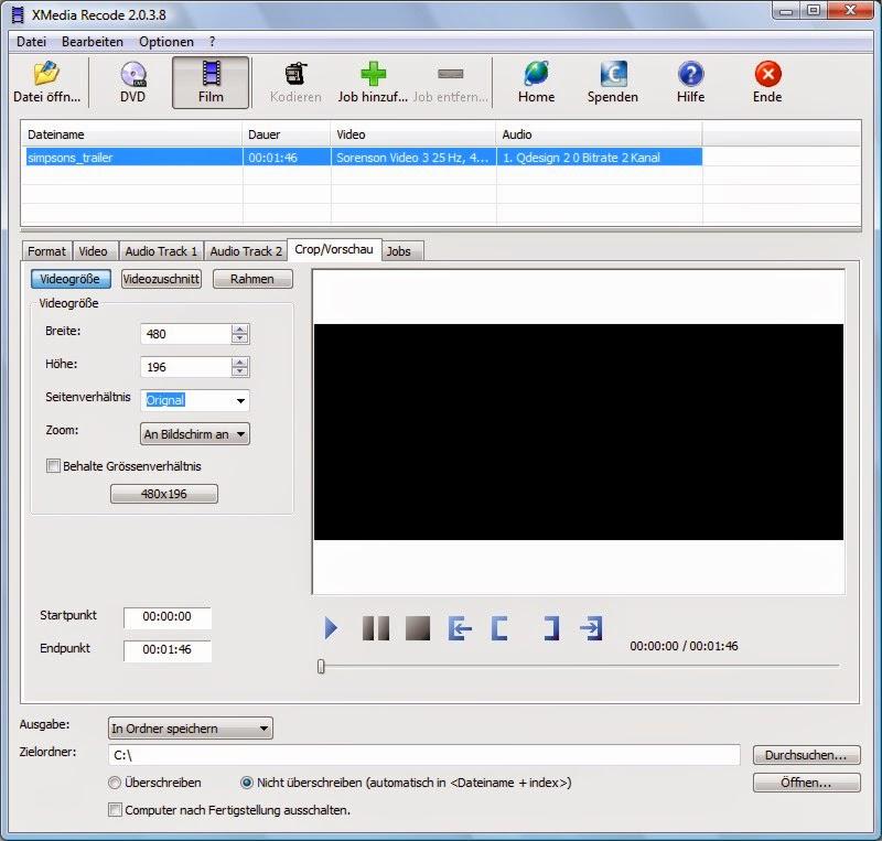 تحميل برنامج تحويل الصيغ XMedia Recode محول الفيديو والصوت 2015