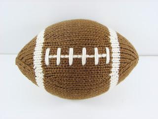 hand knit football sports