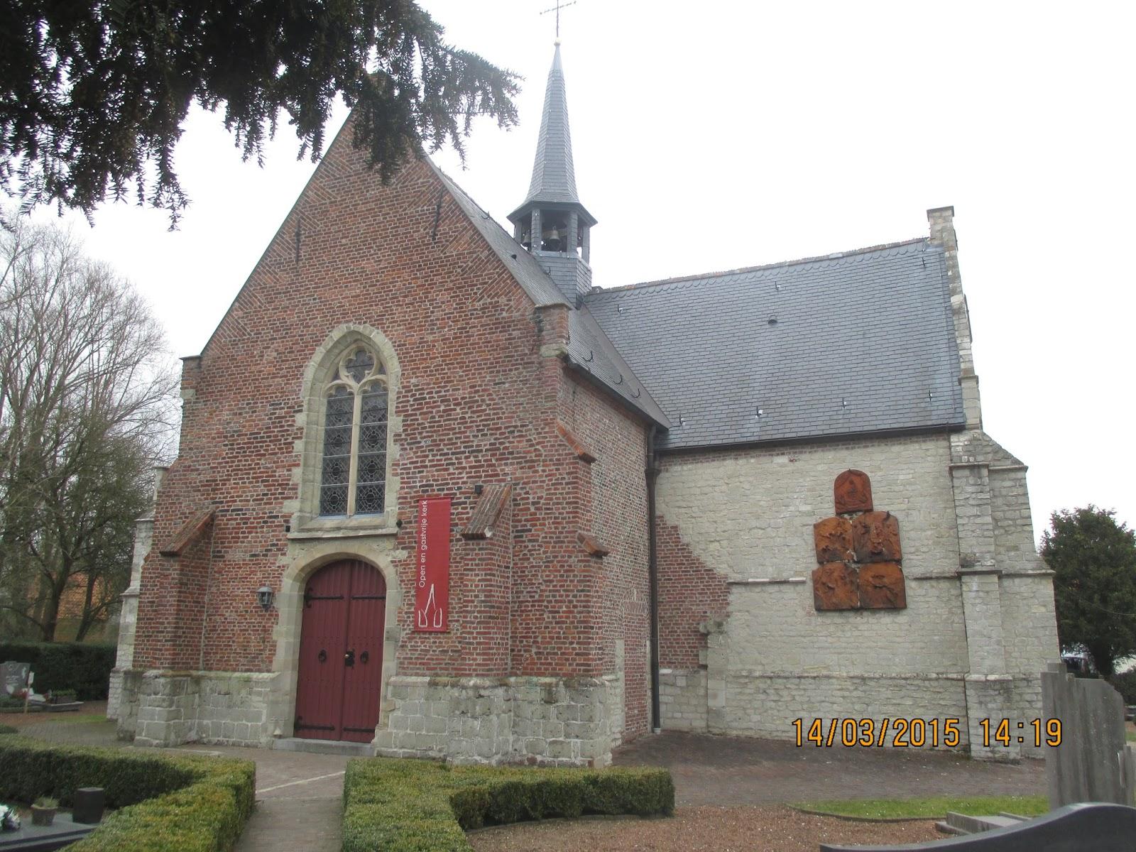 Sint-Gertrudiskerkje Vlassenbroek