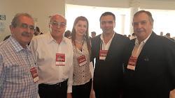 Momento Vinhos do Tejo com Romero Cabral, Carlos Cabral, João Silvestre e Luiz de Castro da CVRTEJO