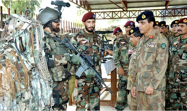 COAS Pakistan Army Visiting SSG Troops