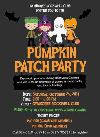 Pumpkin Patch Parties at Gymboree - Chatham, NJ Patch