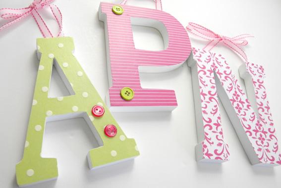 Letras decorativas en madera imagui - Letras decorativas pared ...