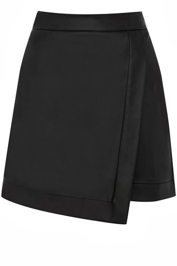 oasis black skirt