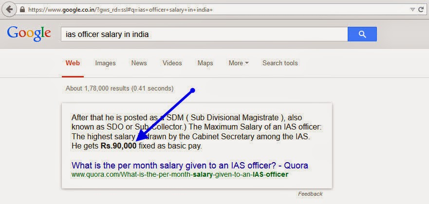 IAS officer salary in india month salary year earnings benefits