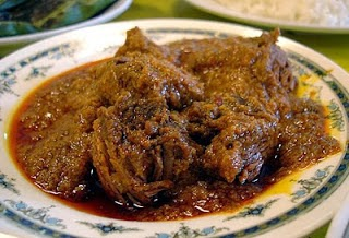 Rendang Ayam Khas Padang, resep Rendang Ayam Khas Padang, cara membuat Rendang Ayam Khas Padang, Rendang Ayam Khas Padang nikmat