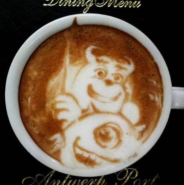 Kazuki Yamamoto - latte art
