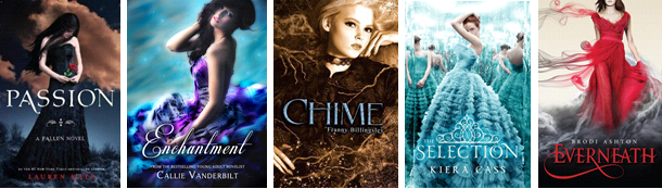 Pretty Ya Book Covers : Myself as written my gripe with ya book covers