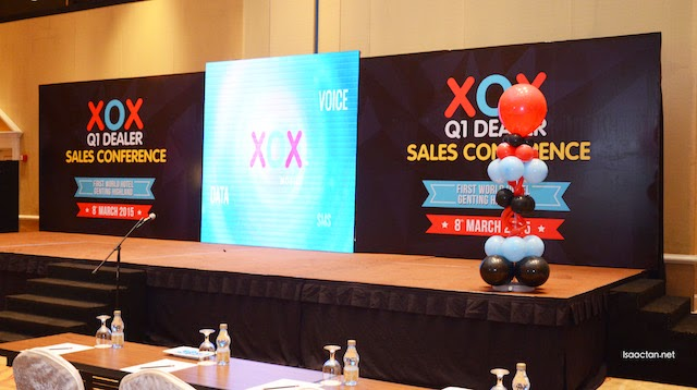 The XOX Q1 Dealer Sales Conference