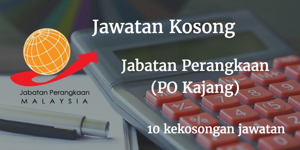 Jawatan Kosong Jabatan Perangkaan Malaysia (PO Kajang) - Januari 2017