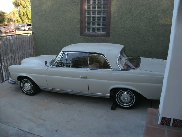 Daily turismo 5k 1965 mercedes benz 220se coupe 4spd for 1965 mercedes benz 220se for sale