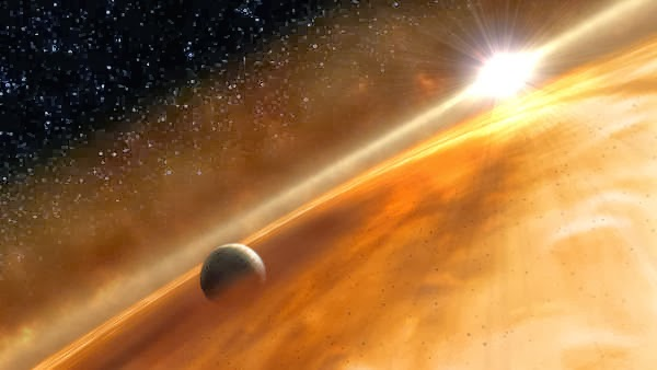 Sistem Bintang Fomalhault, planet emas, planet ekstra surya