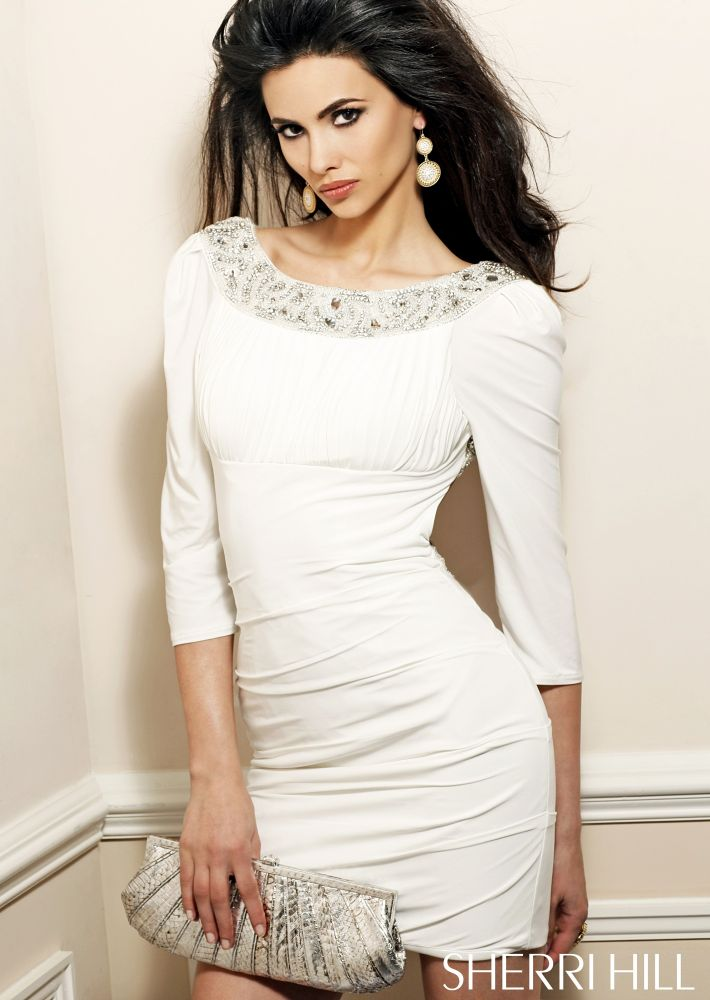 Sleeves Short Prom Dresses 2013 | The Hairs