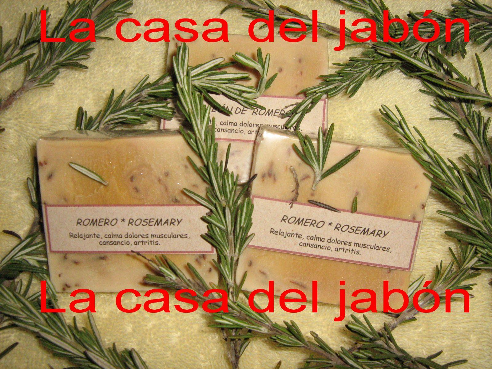 La casa del jab n jab n de romero rosemary soap for La despensa del jabon opiniones