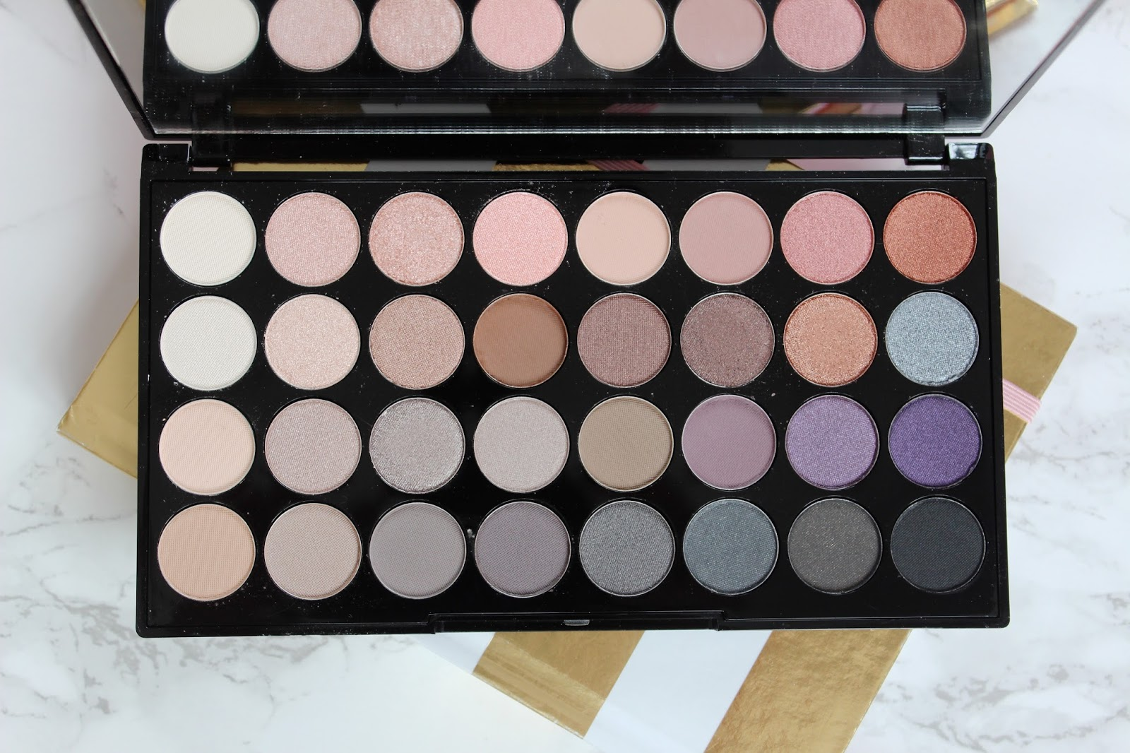 ... Makeup Revolution contains 32 gorgeous shades that so wearable, that I just couldn't wait to get stuck in. The shade choice here is almost overwhelming, ...