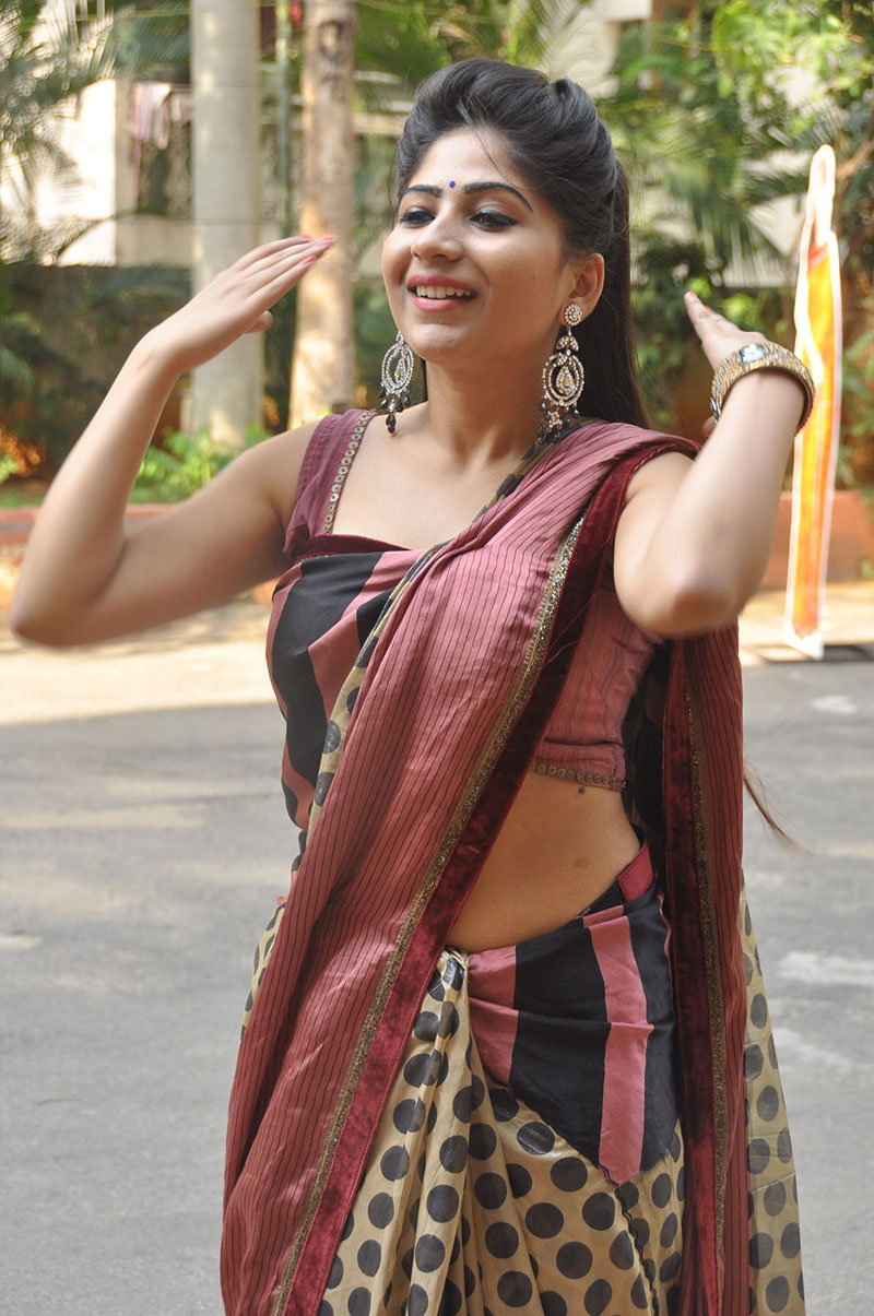 hot sexy wifey Madhulagna das photos at national cotton fab opening event