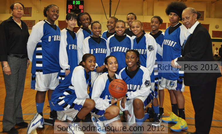 2011-12 J.D. O&#39;Bryant High Lady Tigers!