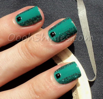 Catrice Emerald Bay with Shimmer Cristina