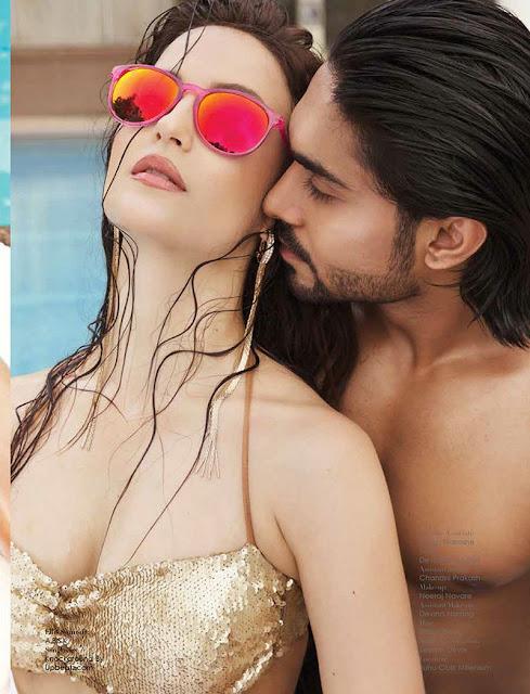 Indian Actress Elli Avram Hot Expose Hd Pics
