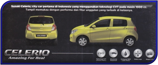 SUZUKI CELERIO CITY CAR