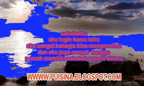 """Puisi Untuk Sahabat Sejati Dengarkanlah Isi Hatiku """"Edisi Arjuna Linglung"""""""