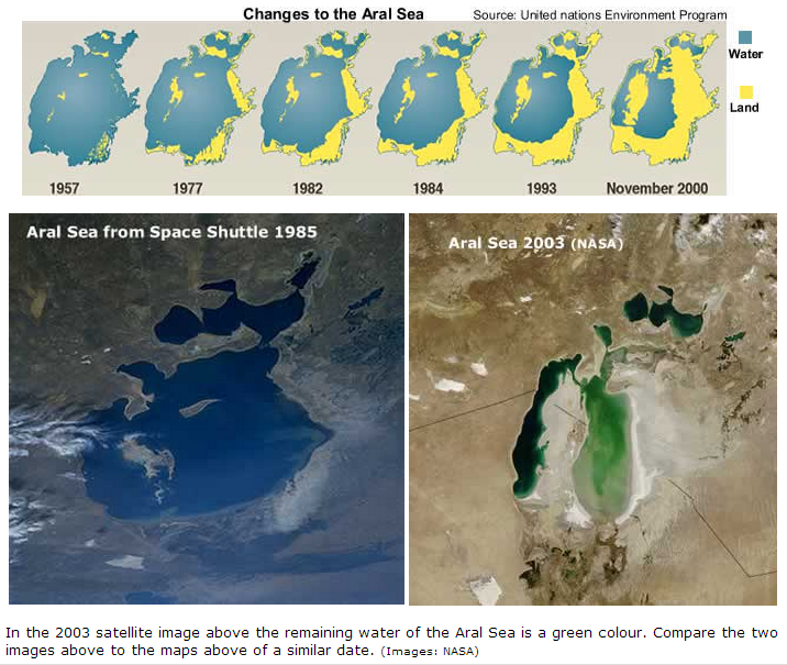 the aral sea essay Disaster of aral sea the aral sea was once the fourth largest inland sea in the world about, a million years ago from now the northwestern part of uzbekistan and southern kazakhstan were covered by a massive inland sea.