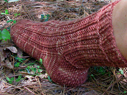 Hiker Chick Sock Pattern