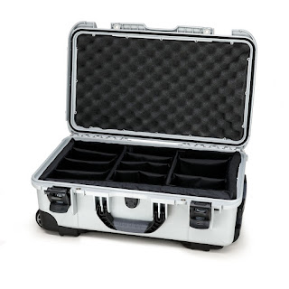 Silver Nanuk 935 Case With Padded Dividers. & Pelican TSA- 1510 Lock