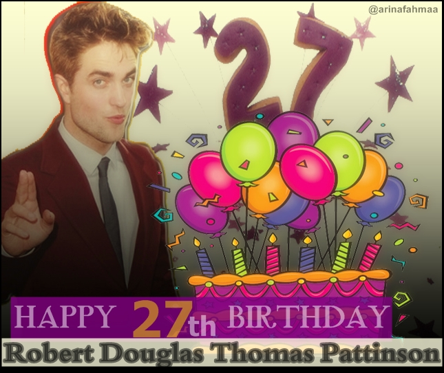 Happy Birthday Robert