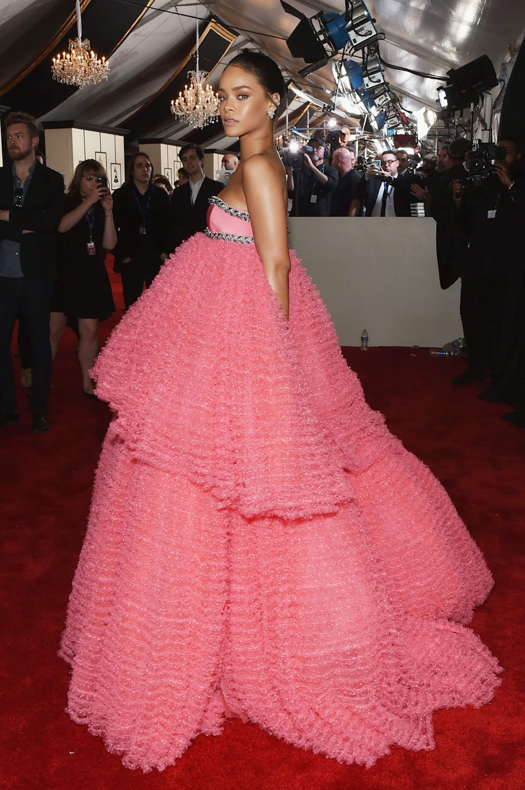 Rihanna – 57th Annual GRAMMY Awards in Los Angeles