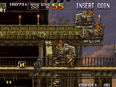 街機大型機台電玩越南大戰5代+作弊碼(金手指),Metal Slug 5!