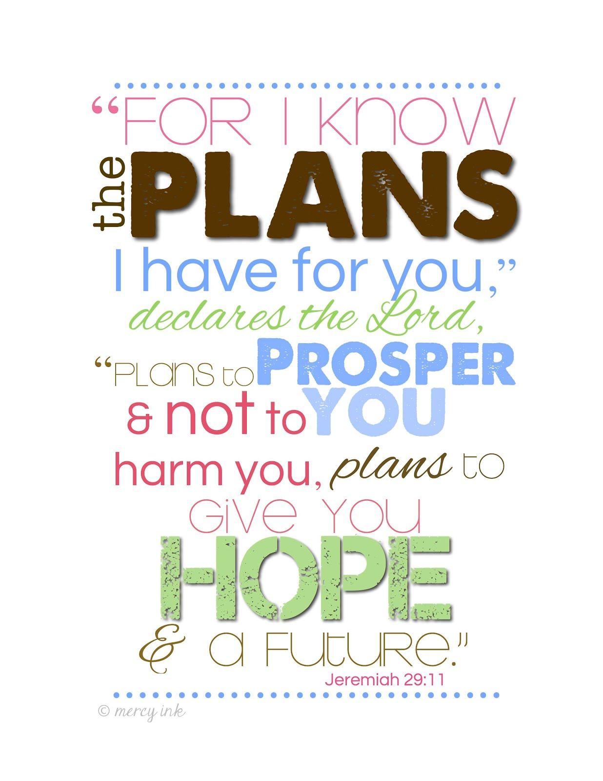 {jeremiah 29:11}