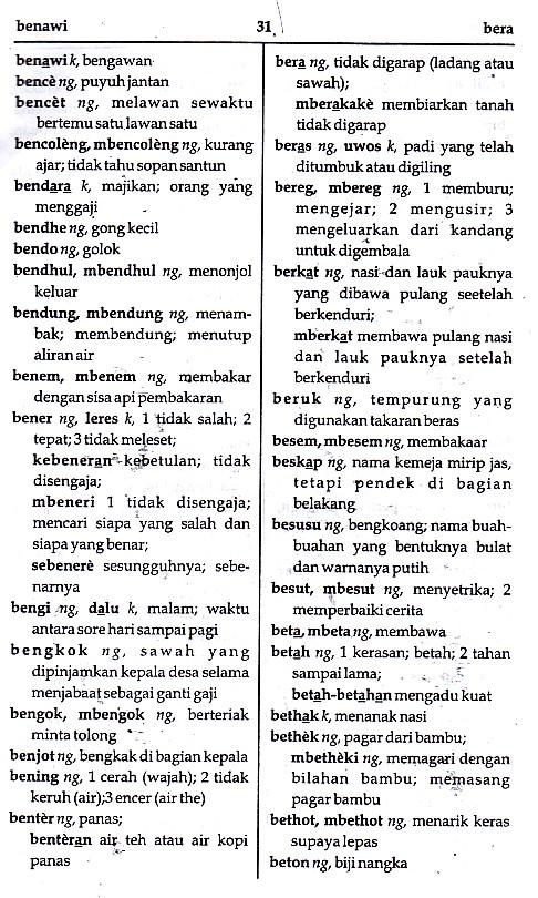 KAMUS LENGKAP BAHASA JAWA (Jawa - Indonesia; Indonesia - Jawa)