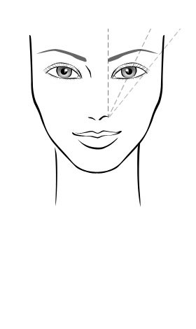 Blondxzilla frequently asked beauty questions however if you are adamant about doing your eyebrows yourself or want to draw them on in a natural shape i recommend you follow the diagram below ccuart Gallery