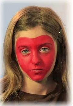 maquillaje de diablesa para nias