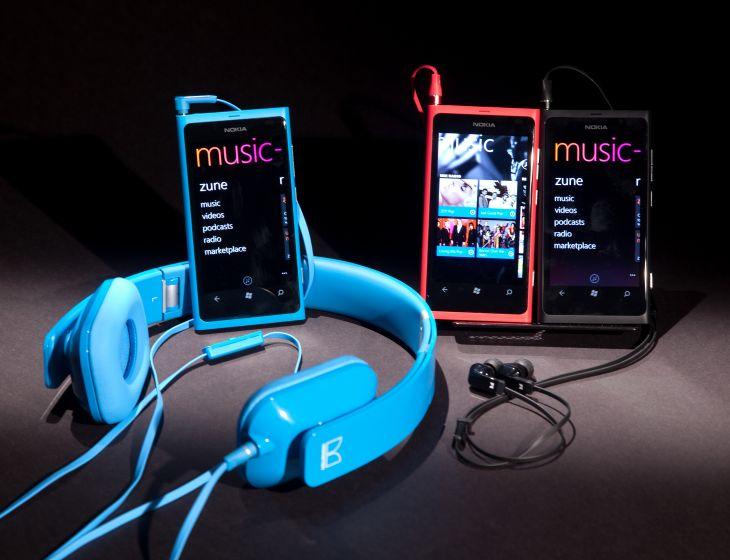Música MP3 en Nokia Lumia