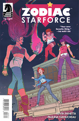 Cover of Zodiac Starforce #3, courtesy of Dark Horse Comics