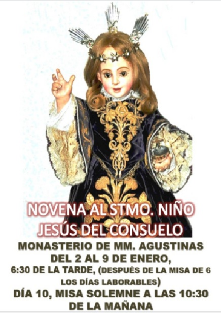 Novena Niño del Consuelo