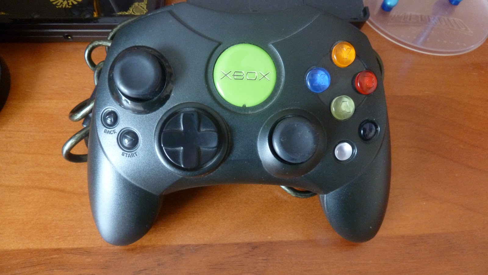 Original Xbox Controller Usually the controller s has aOriginal Xbox Controller Size