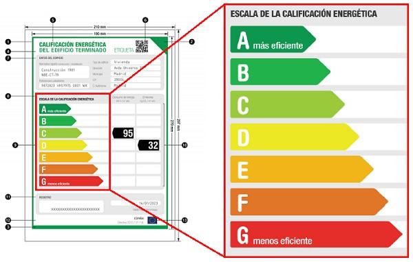 Innhogar la nueva certificaci n energ tica de los edificios resuelve todas tus dudas - Ejemplo certificado energetico piso ...