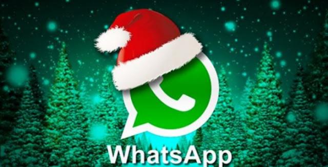 Cuidado con los virus de WhatsApp con mensaje de Navidad