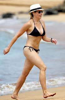 Chelsea Handler Black Bikini Hawaii
