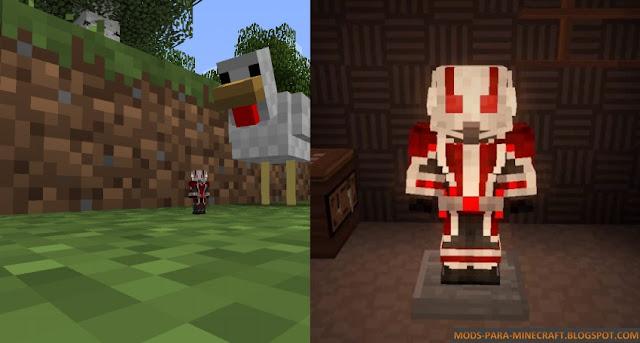 El poder de disminuir el tamaño de AntMan en Minecraft