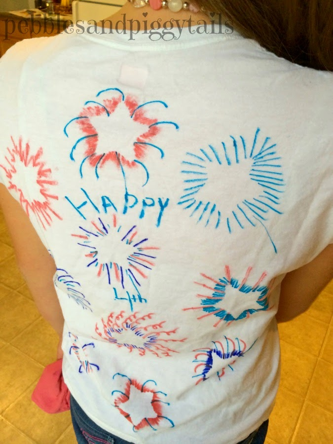 Easy 4th Of July T Shirts Kids Can Make Making Life Blissful