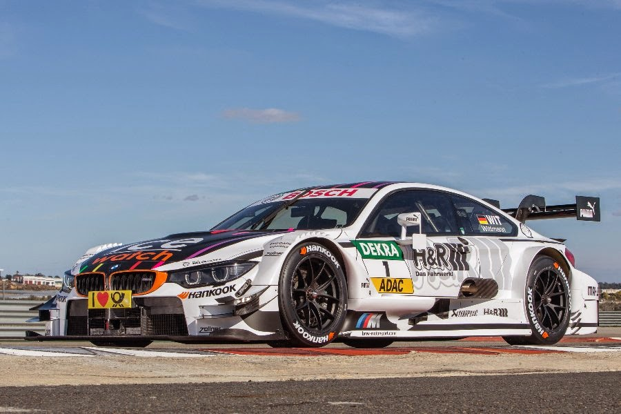 BMW M4 DTM 2015 #1 (Wittmann) Front Side