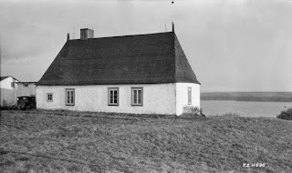 A classic rural New France home on the Île d'Orléans