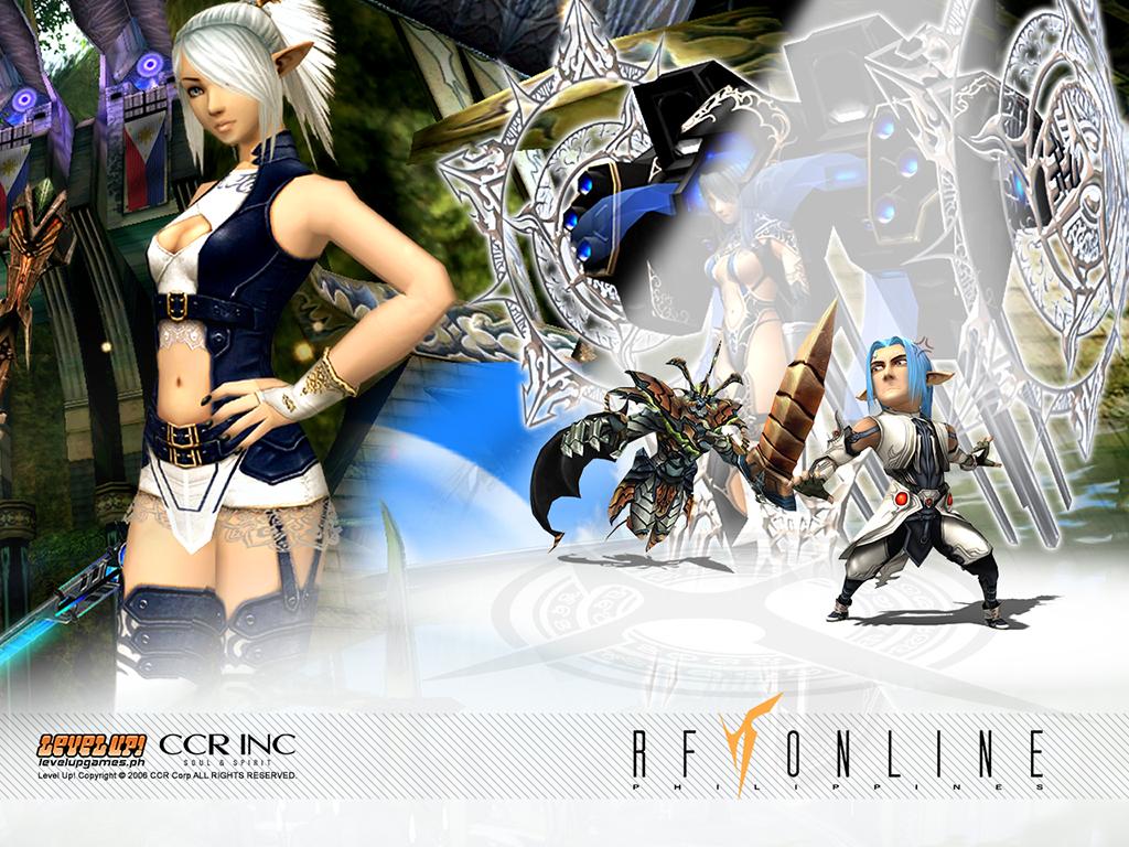 Animaxwallpaper Wallpaper Rf Online