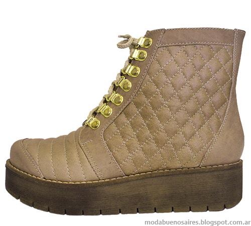 Botinetas y zapatos moda otoño invierno 2014 Stella Maris.